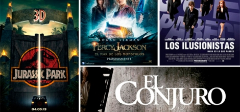 Películas, verano, cine